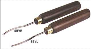 Side bent V tools